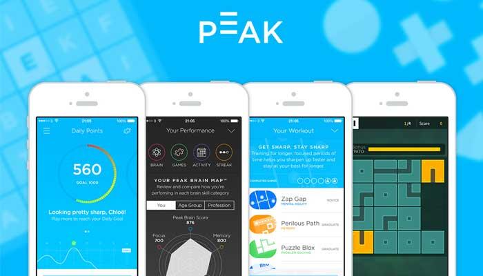 أفضل ألعاب الذكاء للهواتف - لعبة Peak