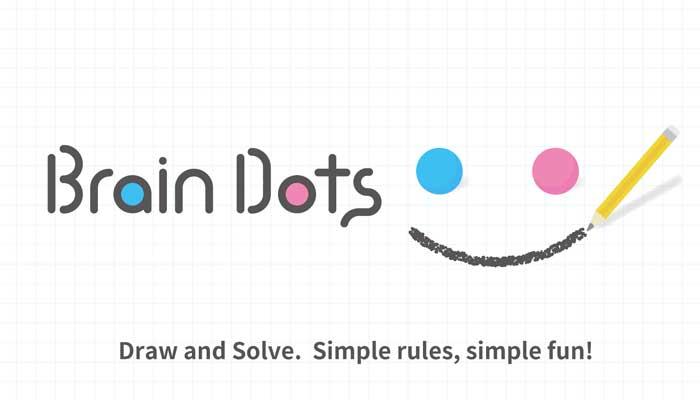أفضل ألعاب الذكاء للهواتف - لعبة Brain Dots