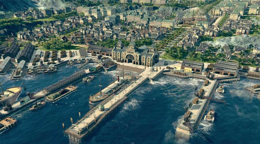 لعبة Anno 1800 - من أفضل الألعاب الاستراتيجية