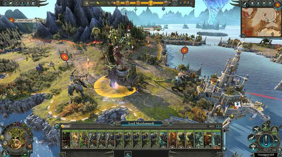 لعبة Total War: Warhammer 2 - أفضل ألعاب استراتيجية