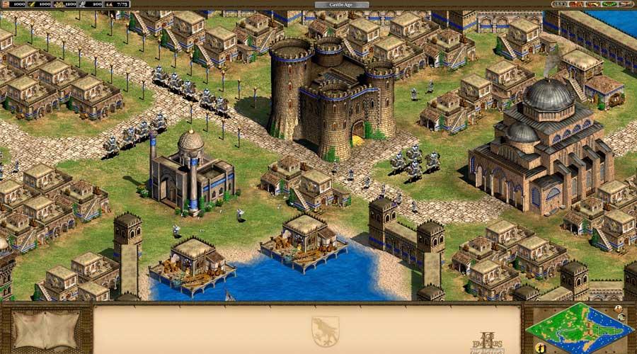 لعبة Age of Empires 2: HD Edition - أفضل ألعاب الاستراتيجية