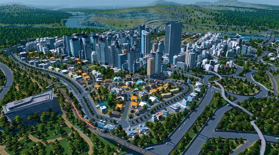 لعبة Cities: Skyline - لعبة بناء مدن استراتيجية
