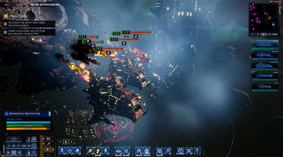 لعبة Battlefleet Gothic: Armada 2 - أفضل ألعاب استراتيجية