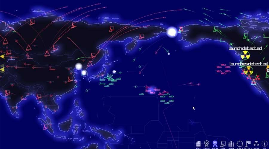 لعبة Defcon - لعبة استراتيحية من الحرب الباردة