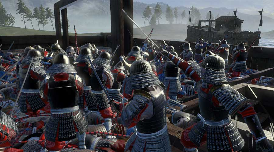 لعبة Total War: Shogun 2 - أفضل ألعاب استراتيجية تاريحية