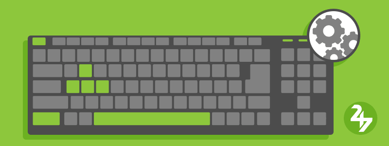 اختصارات الكيبورد - اختصارات لوحة المفاتيح