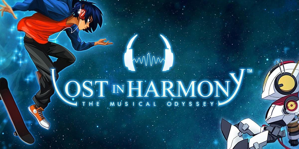 لعبة Lost in Harmony - ألعاب موسيقى