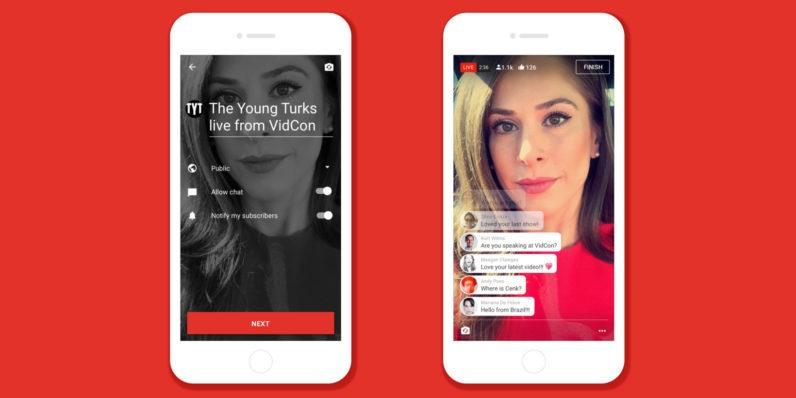 خدمة Youtube Live - برنامج بث مباشر