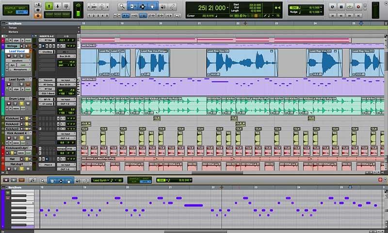 برنامج Avid Pro Tools | First - أفضل برامج تعديل الصوت المجانية