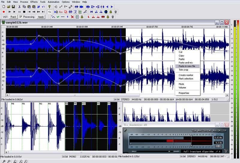 برنامج Wavosaur - أفضل برامج تحرير الصوت المجانية