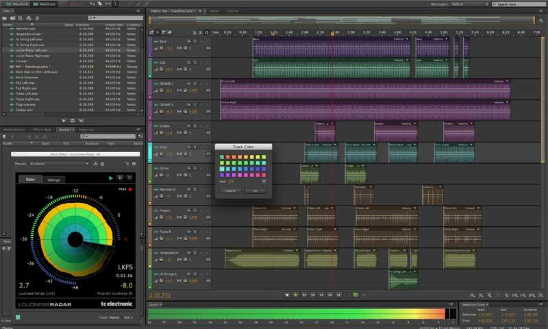 برنامج adobe Audition - أفضل برنامج تحرير صوت احترافي