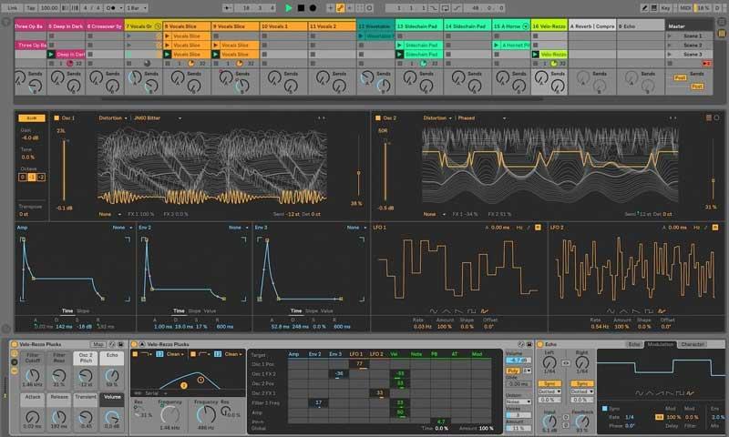 برنامج Ableton Live - أفضل برنامج تحرير صوت احترافي