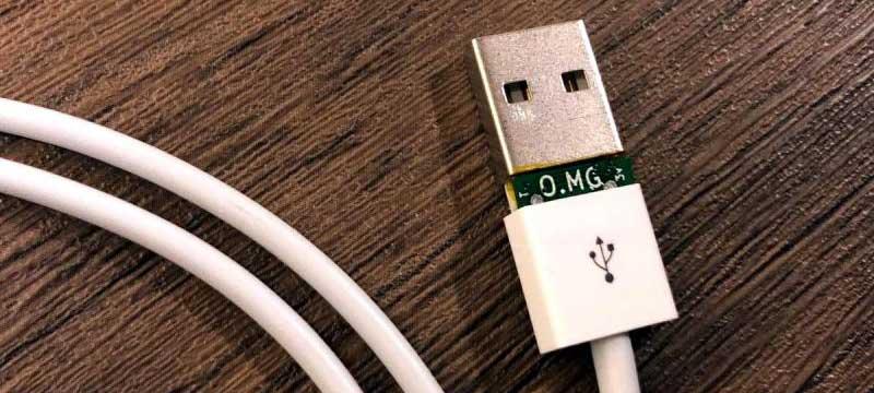 وصلة USB خبيثة لاختراق الحواسيب