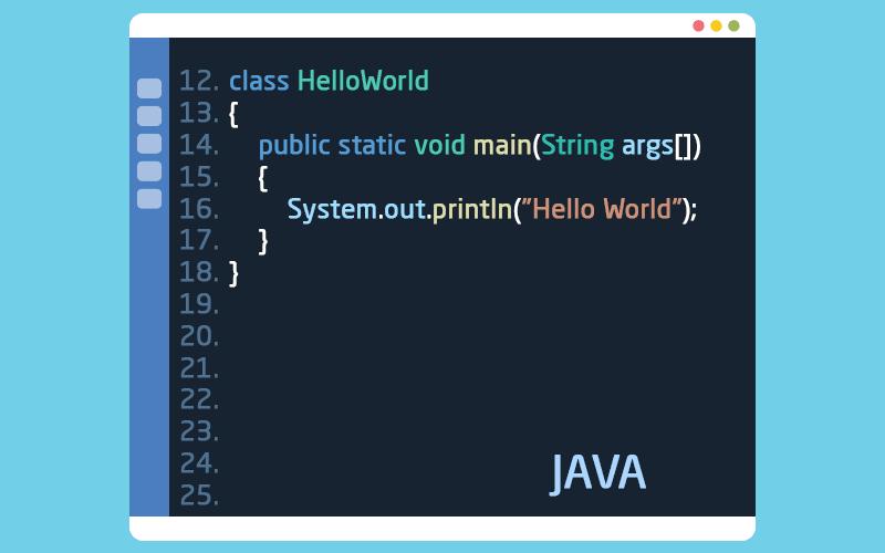 لغة البرمجة جافا