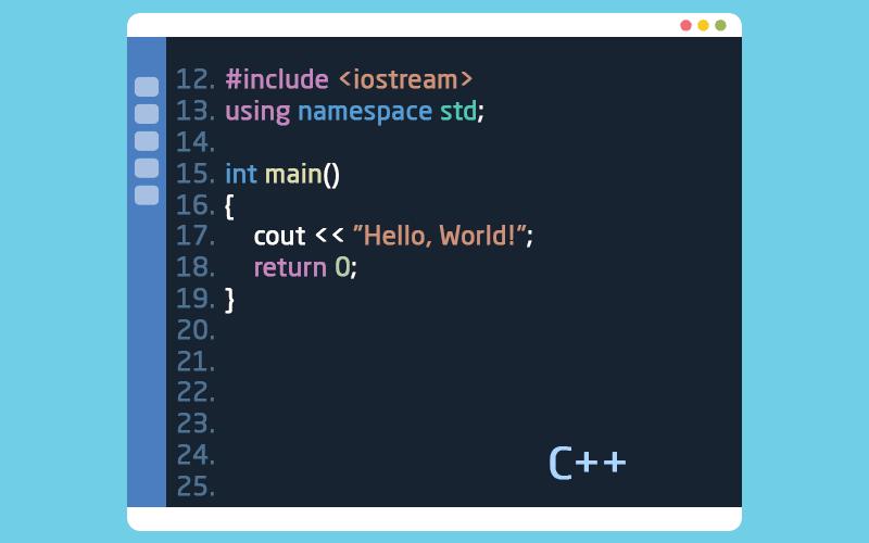 لغة البرمجة سي بلس بلس