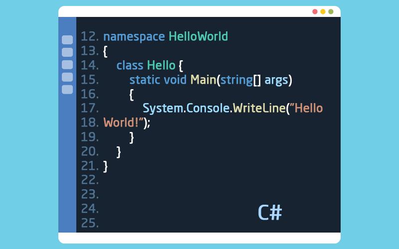 لغة البرمجة سي شارب