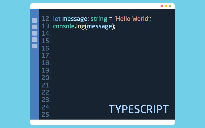 لغة البرمجة تايب سكريبت
