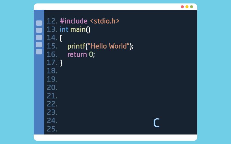 لغة البرمجة سي