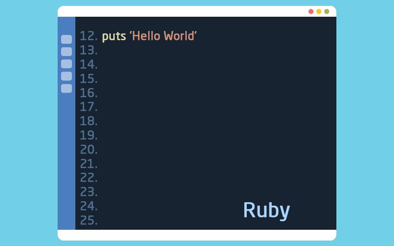 لغة البرمجة روبي