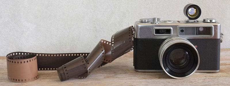 كاميرا فيلم قديمة