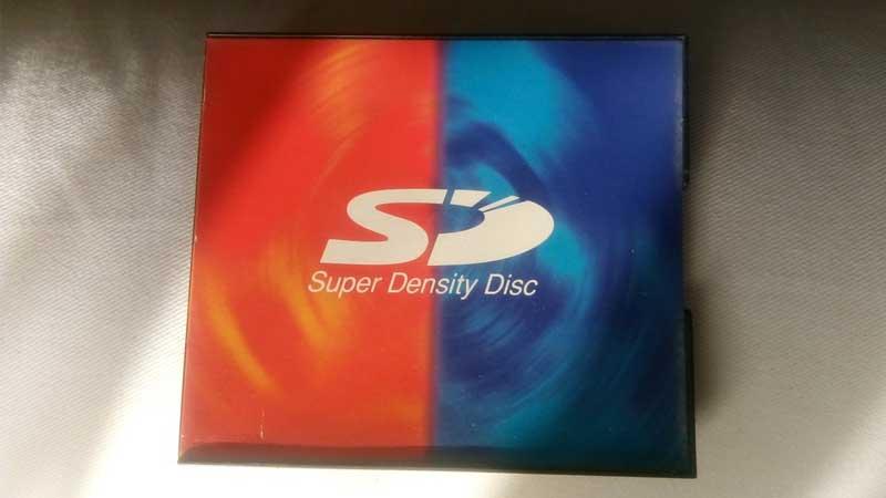 قرص SD مع شعار Super Density الأصلي