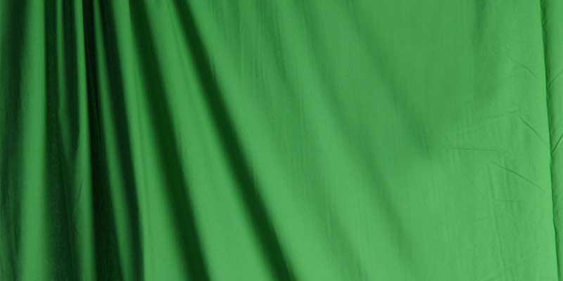 الظلال ضمن الخلفية الخضراء - الشاشة الخضراء