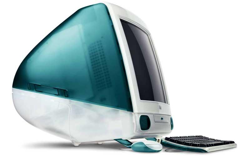 حاسوب iMac من أول منتجات Apple الناجحة على نطاق واسع