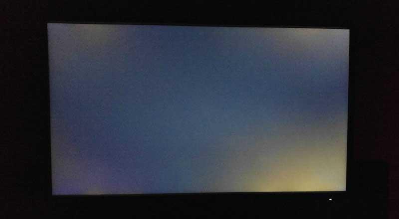 نزيف الضوء الخلفي (نزيف الشاشة)