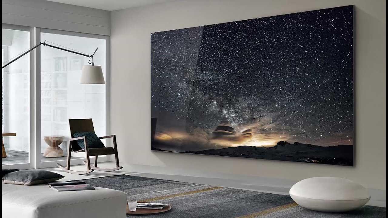 شاشات The Wall من Samsung