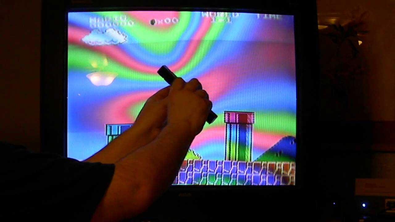 تأثير المغناطيس على شاشة تلفزيون قديمة
