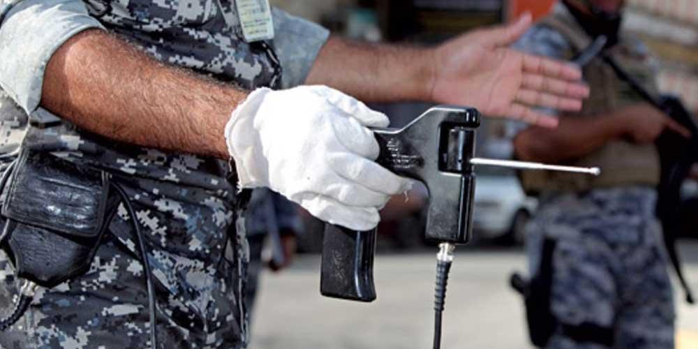 استخدام جهاز كشف القنابل المزيف ADE-651 في العراق