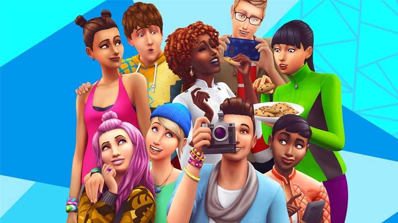 لعبة المحاكاة الاجتماعية The Sims 4