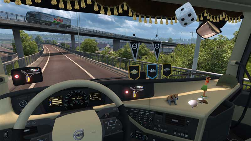 لعبة محاكاة الشاحنات Euro Truck Simulator 2