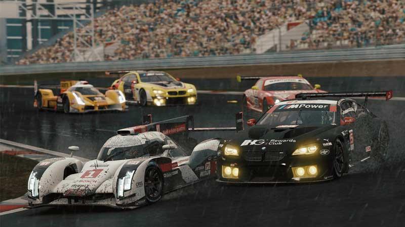 لعبة محاكاة قيادة وسباق السيارات Project Cars 2