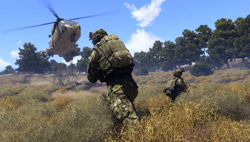 لعبة المحاكاة العسكرية ARMA 3