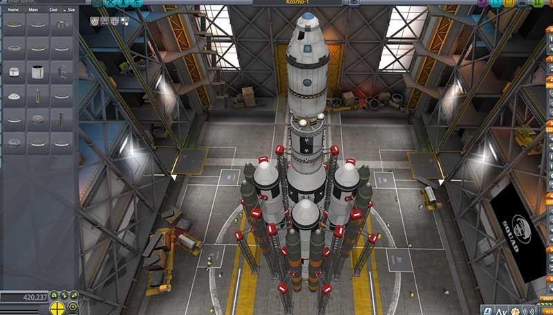 لعبة محاكاة استكشاف الفضاء Kerbal Space Program