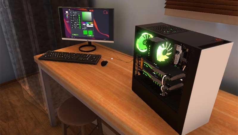 لعبة محاكاة بناء حاسوب PC Building Simulator