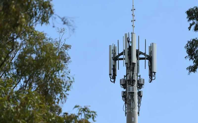 محطة بث تدعم شبكات الجيل الخامس (5G)