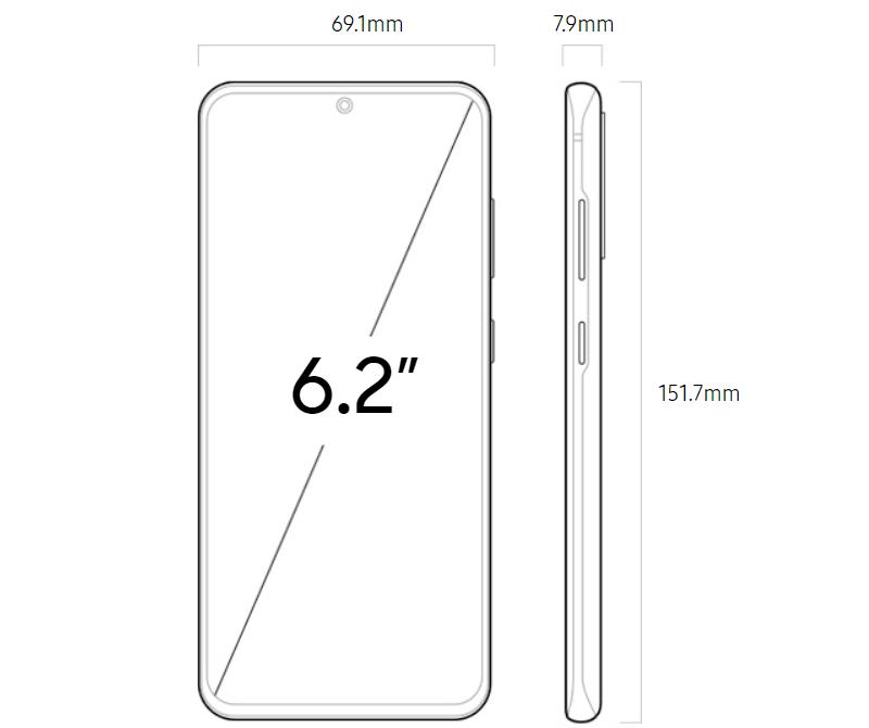 هاتف سامسونج جالكسي إس 20 Samsung Galaxy S20
