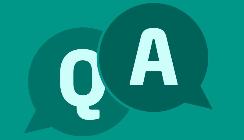 أسئلة وأجوبة Q&A