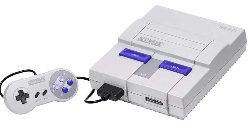 مشغل ألعاب SNES أو Super Famicom