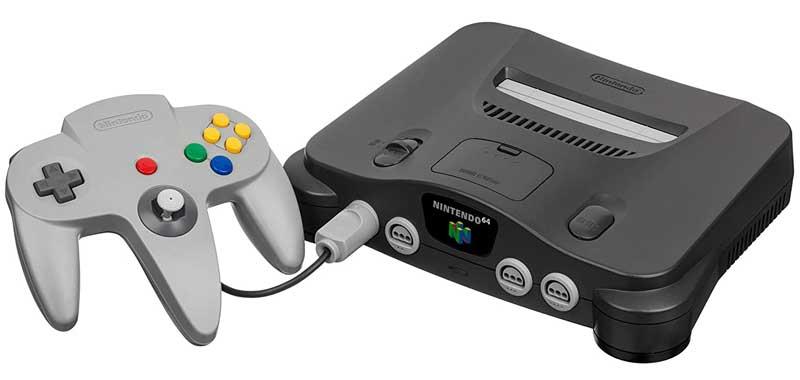 مشغل ألعاب Nintendo 64