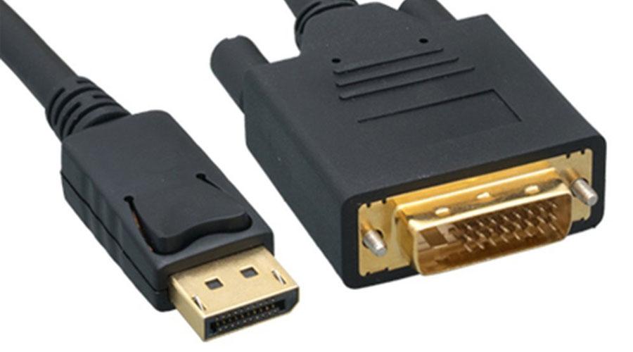 منافذ DVI (Digital Video Interface أو الواجهة الرقمية البصرية)