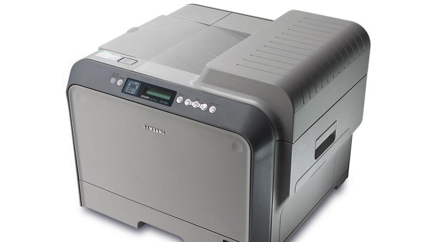 طابعة Samsung CLP-550N من الطابعات القليلة التي لا تضع رمز التتبع