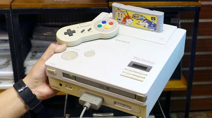 النموذج الأولي من Nintendo PlayStation