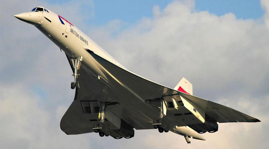 طائرة كونكورد - أسرع طائرة تجارية في العالم