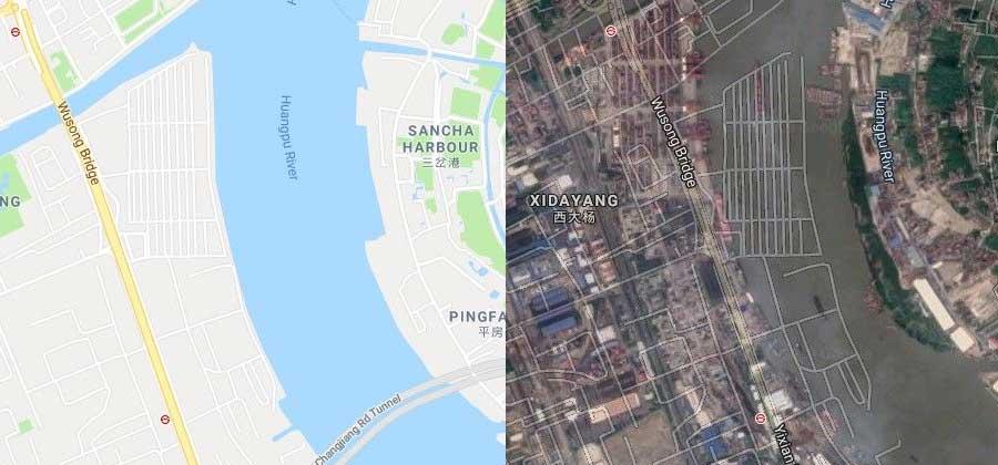 لماذا الخرائط الصينية الرقمية مشوهة وتعطي مواقع خاطئة دائماً؟